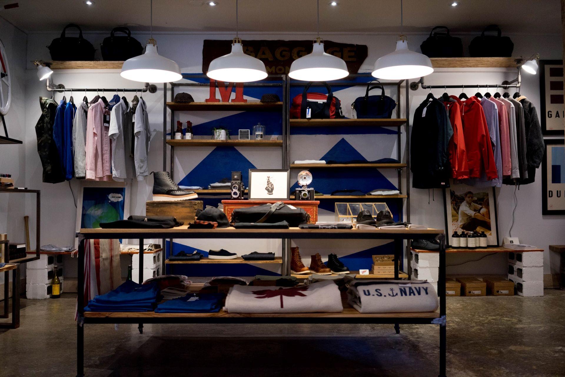 衣料品・服飾品小売のコーポレートサイト
