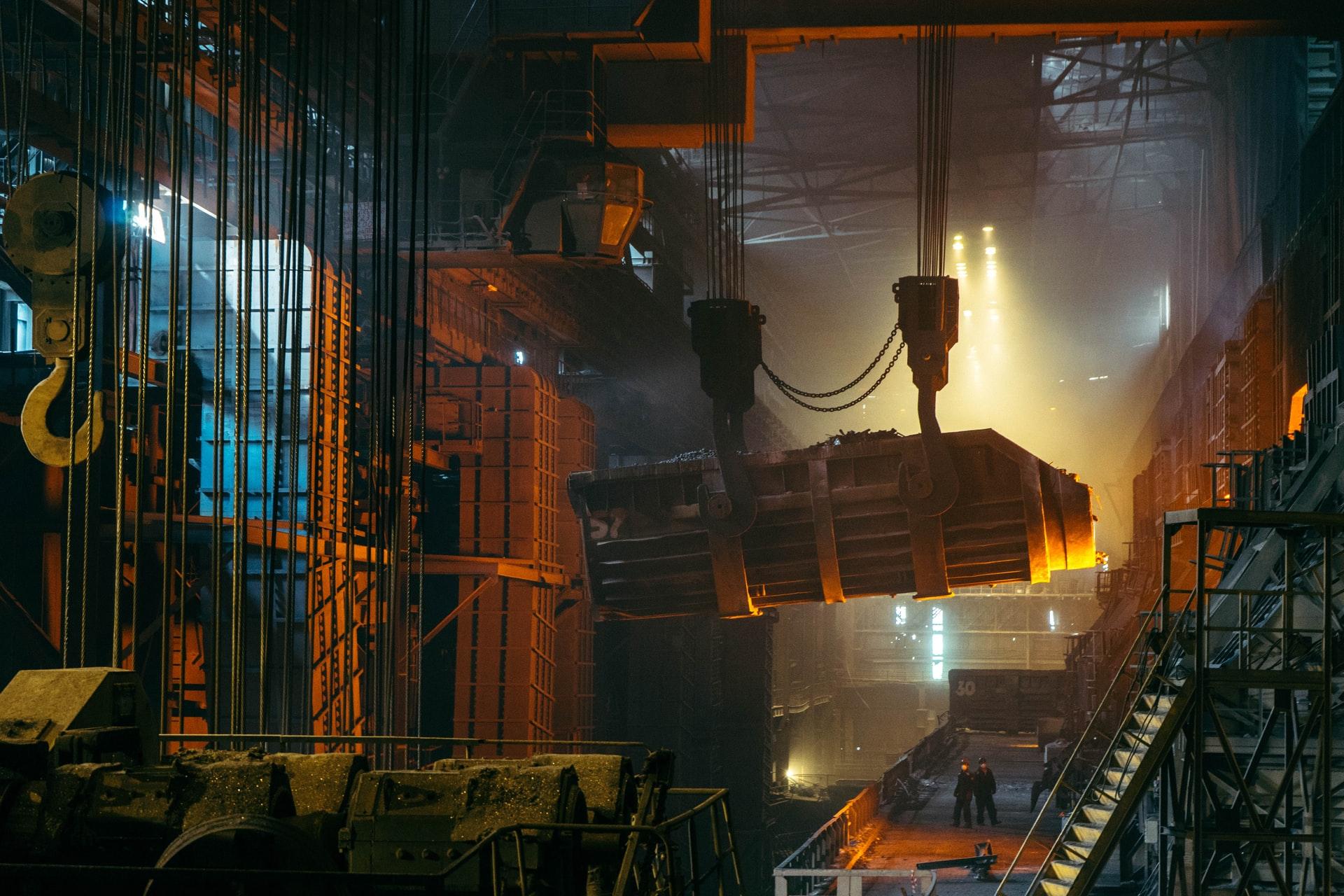 産業用機械のコーポレートサイト
