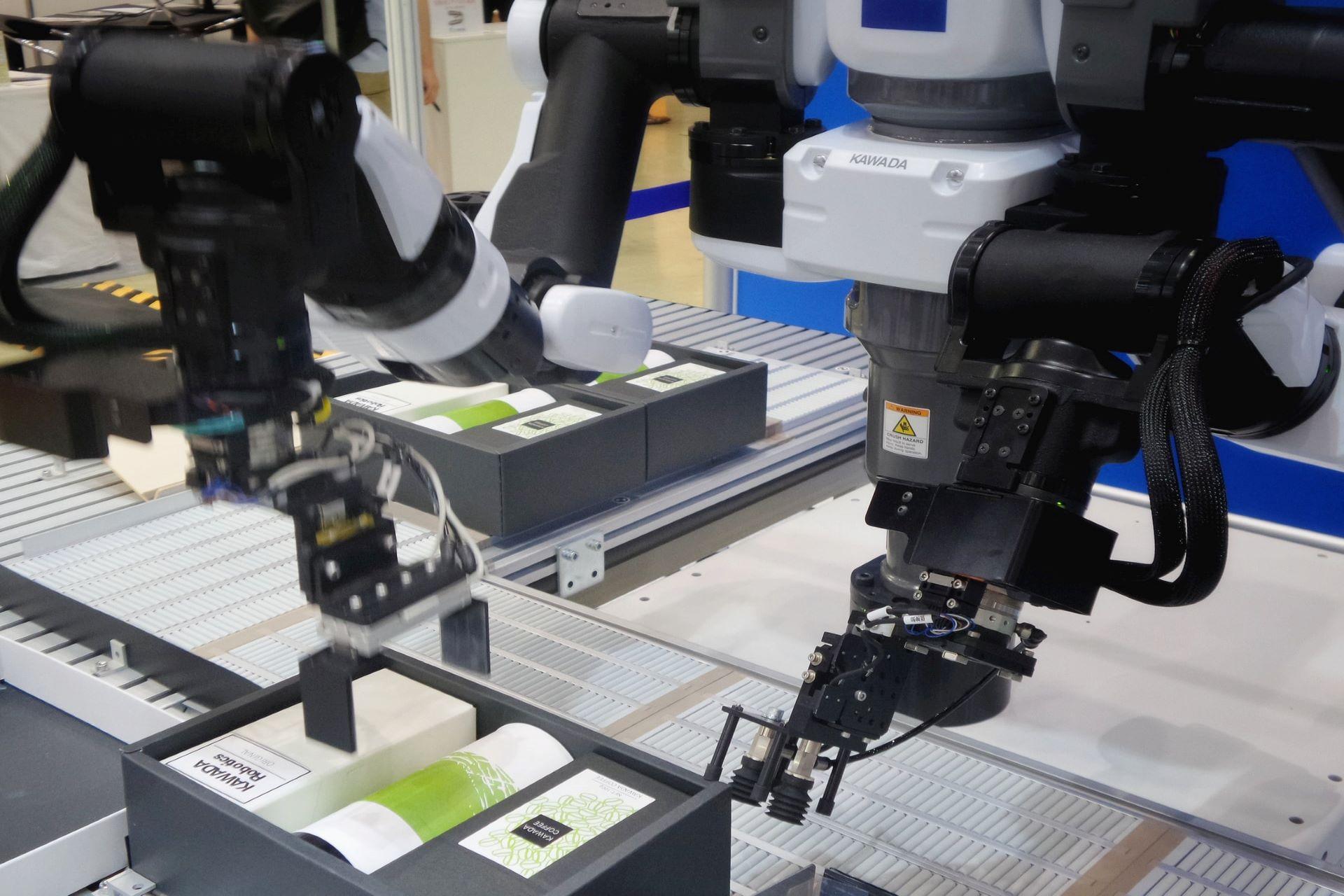 製造用機械のコーポレートサイト